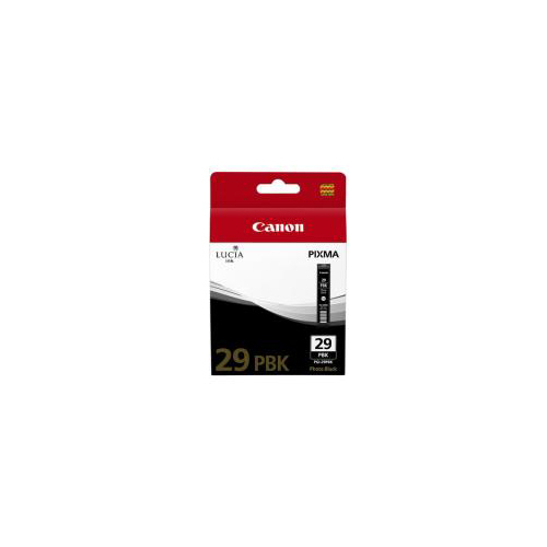 CARTOUCHE CANON PGI-29 PBK PHOTO BLACK INK CARTRIDGE PRO-1