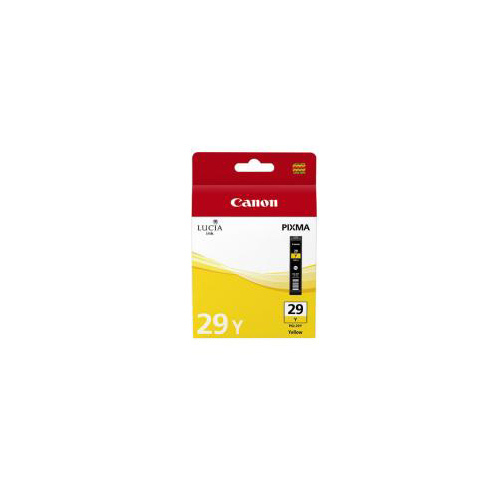 CARTOUCHE CANON PGI-29 Y YELLOW INK CARTRIDGE  PRO-1