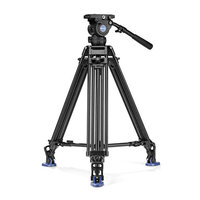 Kit BENRO video Twin dual stage avec ball 75mm et BV8