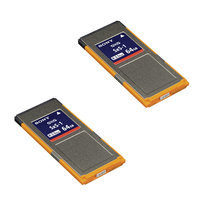 CARTE SONY SXS SBS-64 G1C LOT DE 2 R440/W200Mbs