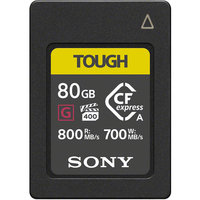 CARTE CF EXPRESS TYPE A SONY G series TOUGH 80 Go W700 M/O