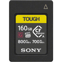 CARTE CF EXPRESS TYPE A SONY G series TOUGH 160 Go W700 M/O
